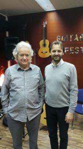 With Carlo Domeniconi